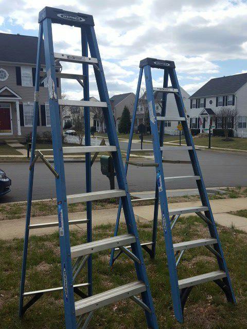 2 Werner 8' Ladders