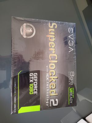 EVGA GTX 1080 SC2 Superclocked ICX edition for Sale in Thousand Oaks, CA