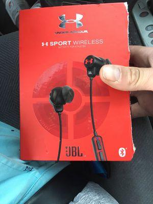 Jbl under armor wireless headphones for Sale in Lakewood, CO