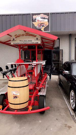 PARTY BIKE! Bar on wheels! for Sale in Houston, TX