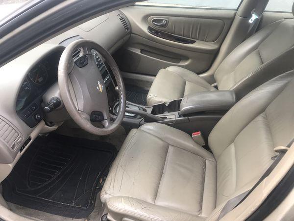 2003 Nissan Maxima GLE (LEATHER SUNROOF)