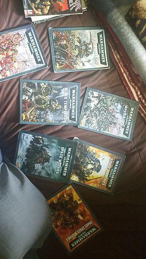 Warhammer 40k codex books for Sale in Montgomery, IL
