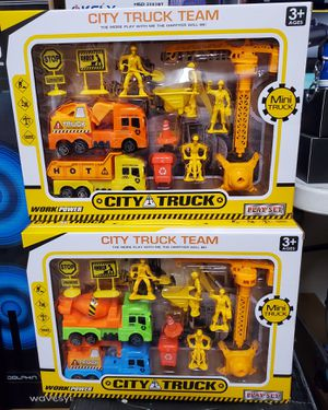 New city truck set $5 each for Sale in Riverside, CA