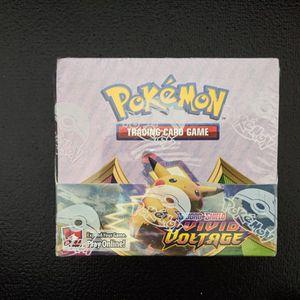 Sealed Pokemon TCG Vivid Voltage Booster Box for Sale in San Jose, CA