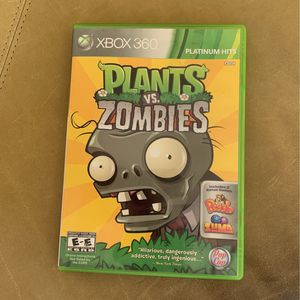 XBOX 360 Plants vs. Zombies COMPLETE AND TESTED!!! for Sale in Fort Lauderdale, FL