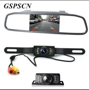 "4.3"" TFT LCD Car Mirror Monitor with Wired Rear View Reverse Camera Night Vision for Sale in Gardena, CA"
