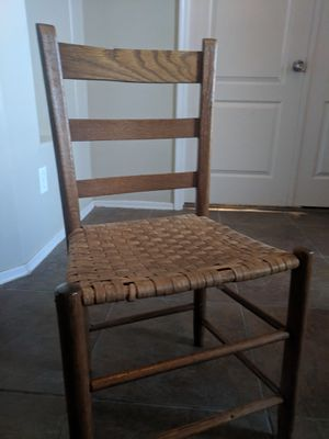 Antique ladder woven chair for Sale in Phoenix, AZ