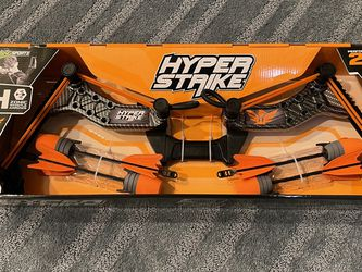 Hyper Strike Bow Zing Orange Team Falcon Zonic Whistle Arrows for Sale in Frederick,  MD