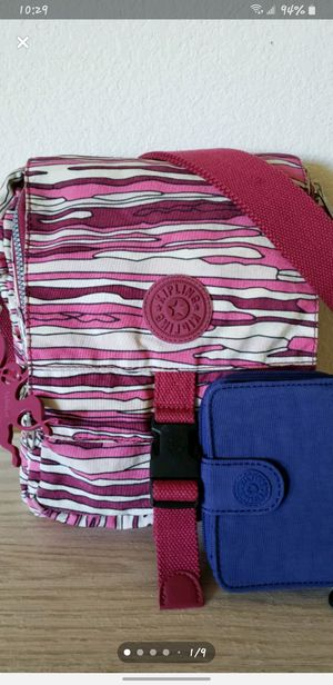 Kipling crossbody and wallet for Sale in Lathrop, CA