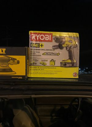 Selling cheap tonight both items are brand new in the box power tools for Sale in Hilliard, OH