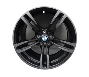BMW M2 M3 M4 20 inch matte Black rims. 2 front 1 rear wheel staggered. for Sale in Los Nietos, CA