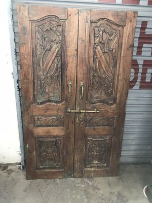 Antique Doors From India for Sale in Tucson, AZ