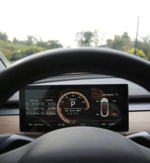 Tesla Model 3/Y HUD Full LED Digital Screen Instrument Cluster Plug N Play. Tesla Digital Display, Multiple language / Units option for Sale in Tempe, AZ