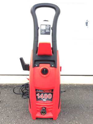 Clean Force 1400 PSI Electric Power Washer (missing nozzle) for Sale in Freehold, NJ