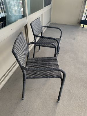 Two outdoor chairs for sale for Sale in Falls Church, VA