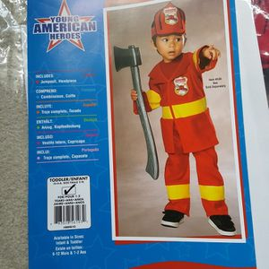 Firefighter Costume for Sale in Lansdale, PA