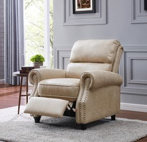 XL recliner suede tan New for Sale in Houston, TX