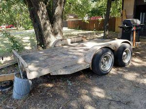 Steel Hauling Trailer for Sale in Kennedale, TX