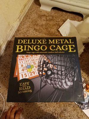 Deluxe metal bingo cage for Sale in Reedley, CA