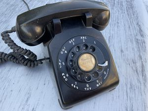 Vintage ROTARY Phone Telephone Price is set. Thanks. for Sale in Burbank, CA