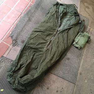 1968 vintage survival army military extreme weather mummy sleeping bag for Sale in Del Mar, CA