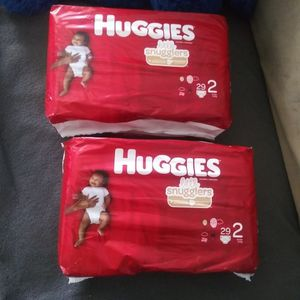 Huggies Size 2 Diapers for Sale in Chicago, IL