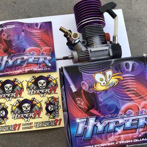 RC Nitro Hyper 21 Turbo HoBao Engine for Sale in Fresno, CA