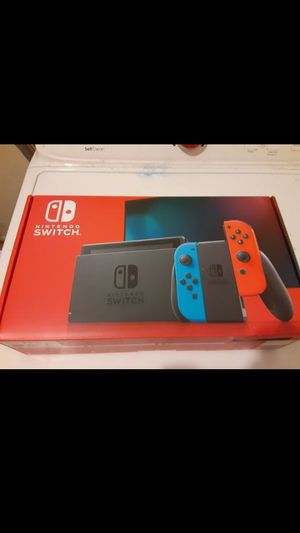 Jailbroken/hacked brand new unopened Nintendo switch never buy a game again 30,000 old school games 128gig memory $450 firm for Sale in Peoria, AZ
