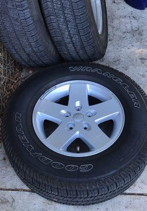 Tires for Jeep 8k miles for Sale in La Mesa, CA
