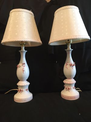 Pair of Vintage Dressing Table/Vanity Lamps for Sale in Valrico, FL