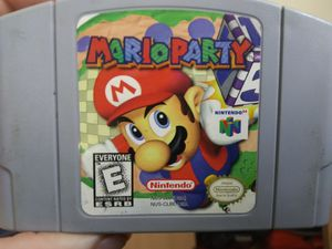 Mario Party for nintendo 64 with original box and booklet. for Sale in Galloway, OH
