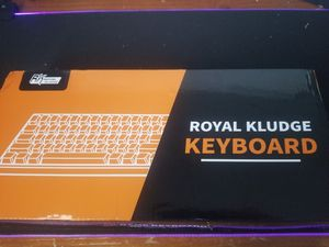 RK61 60% keyboard white for Sale in Miami, FL