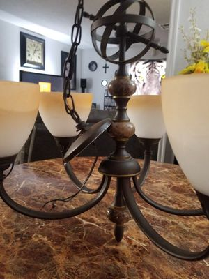 Nice chandelier light fixture for Sale in Oklahoma City, OK