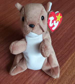 Retired Beanie Baby Nuts Squirrel for Sale in Miami, FL