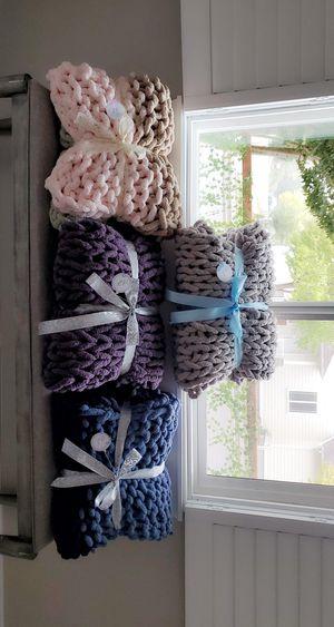 Cozy Chunky Blankets for Sale in Bellingham, WA