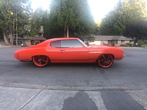 1970 chevelle on 24x15s for Sale in Puyallup, WA