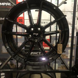BRAND NEW Gloss Black Niche 22 inch Rims For Only $1100!!!! for Sale in Lakewood, WA
