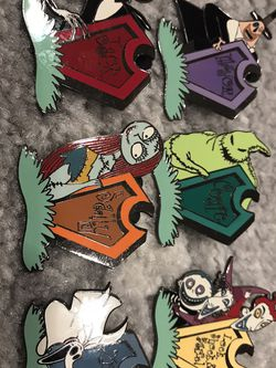 Tombstone pin set nightmare before Christmas for Sale in Irvine,  CA