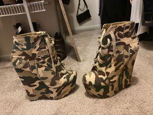 8.5 wedge army heel for Sale in Las Vegas, NV