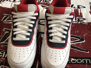 Air Force 1 white (obsidian, red layered) size 9 for Sale in Hyattsville, MD
