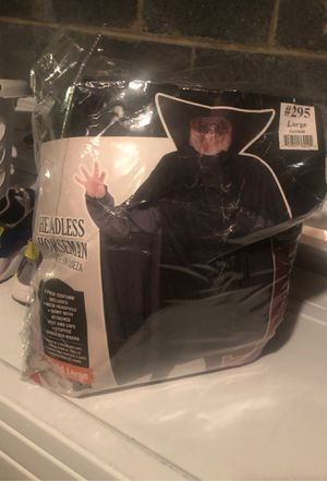 Headless horseman child's costume for Sale in Burlington, NJ
