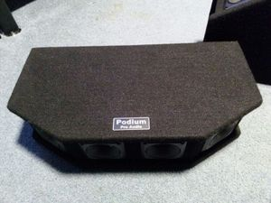 Podium pro audio pizio tweeter speakers for Sale in Covington, WA