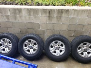 Hankook Dynapro Tires 265/70R16 on 2001 Toyota 4runner Rims Fair Condition- Lugs Included for Sale in San Diego, CA