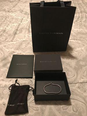 David Yurman Cobra Chain bracelet 6mm for sale/trade supreme, PS4 pro for Sale in San Diego, CA