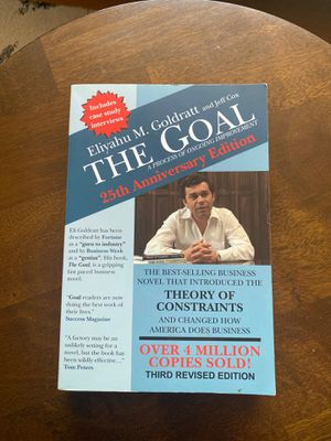 The Goal, a business book that introduces the theory of constraints for Sale in Los Angeles, CA