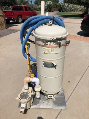 Portable pump & vacuum system for pool or spa for Sale in Ramona, CA