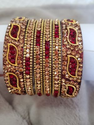 Bollywood Indian bangles set/bracelet for Sale in Peoria, IL