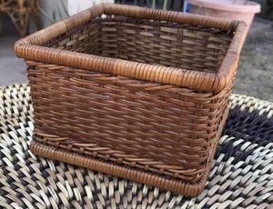 Vintage Boho Wicker Basket Napkin Holder for Sale in Phoenix, AZ
