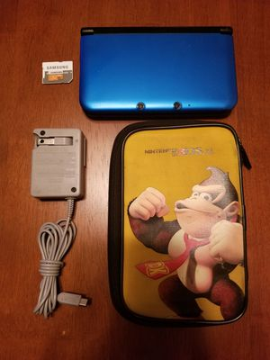 Nintendo 3DS XL w/ charger, carrying case, and games for Sale in San Dimas, CA