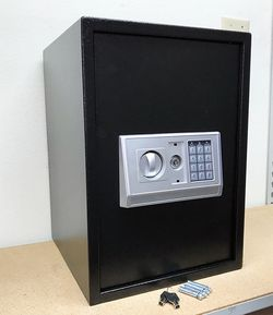 "(NEW) $85 Large 14x14x20"" Digital Security Safe Box Electric Keypad Lock w/ Master Key for Sale in El Monte,  CA"